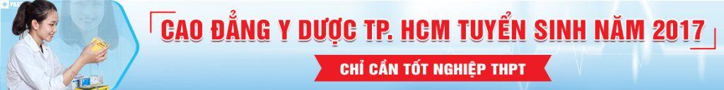 Trường Cao đẳng Y Dược TPHCM tuyển sinh 2017