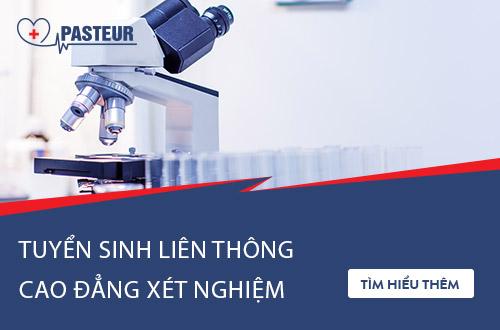 Cập nhật đối tượng được liên thông Cao đẳng Xét nghiệm TPHCM 2018