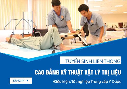 Điều kiện Liên thông Cao đẳng Kỹ thuật Vật lý trị liệu TP.HCM năm 2018 là gì?
