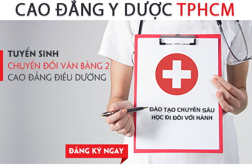 Điều kiện xét tuyển Văn bằng 2 Cao đẳng Điều dưỡng TPHCM năm 2018