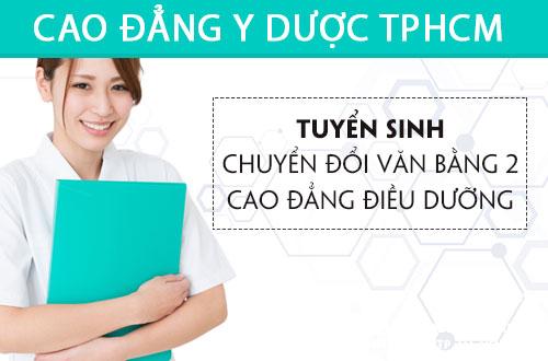 Địa chỉ đào tạo Văn bằng 2 Cao điều dưỡng tại TP.HCM