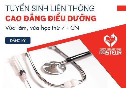 Tuyển sinh Liên thông Cao đẳng Điều dưỡng TPHCM đào tạo ngoài giờ hành chính
