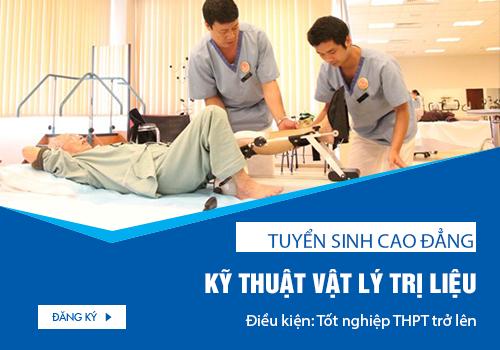 Tuyển sinh Cao đẳng Kỹ thuật Vật lý trị liệu năm 2018 chỉ cần tốt nghiệp THPT.