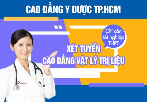 Cách thức tuyển sinh Cao đẳng Kỹ thuật Vật lý trị liệu TP.HCM