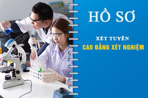 Hồ sơ tuyển Sinh Cao đẳng Xét nghiệm năm 2018.