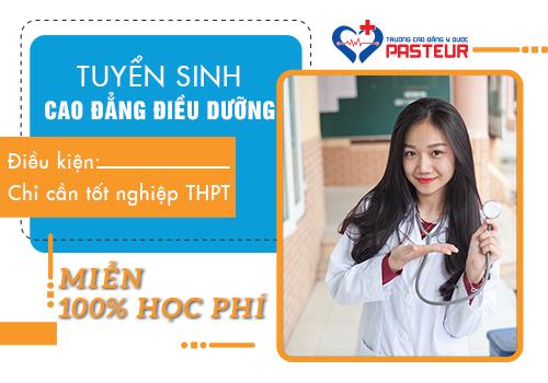 Học Cao đẳng Điều dưỡng TPHCM chỉ cần tốt nghiệp THPT