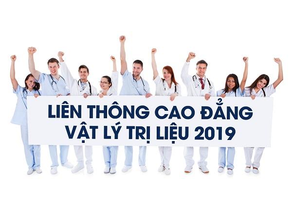 Tuyển sinh Liên thông Cao đẳng Vật lý trị liệu TPHCM năm 2019