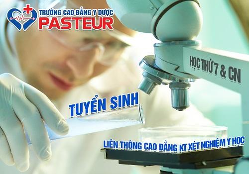Thời gian đào tạo Liên thông Cao đẳng Xét nghiệm TPHCM
