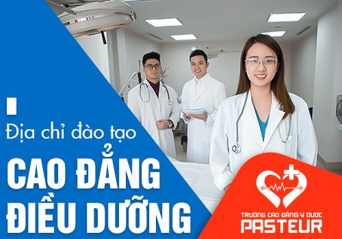 Cao đẳng Y Dược Pasteur đào tạo Điều dưỡng viên Cao đẳng chất lượng