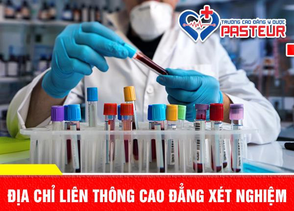 Đào tạo Liên thông Cao đẳng Xét nghiệm đúng chuẩn Bộ Y tế