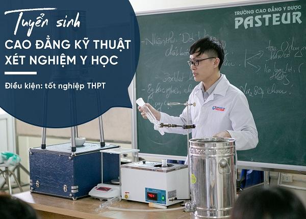 Cách thức đăng ký học Cao đẳng Xét nghiệm TPHCM năm 2019