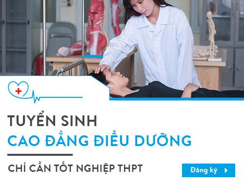 Sinh viên cao đẳng Điều dưỡng được thực hành thực tập tại Bệnh viện