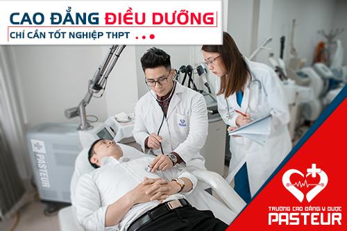 Học Cao đẳng Điều dưỡng chỉ cần tốt nghiệp THPT