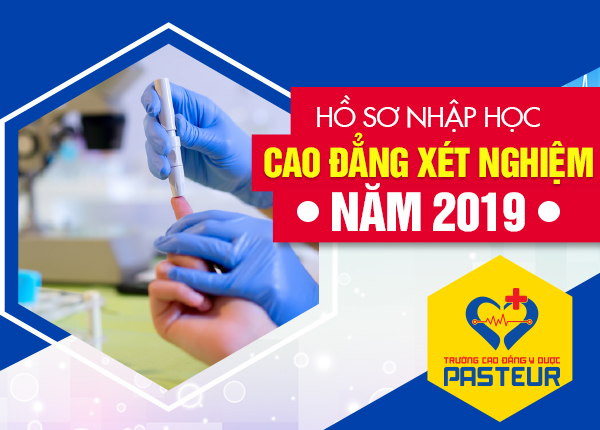 Mẫu hồ sơ xét tuyển Cao đẳng Xét nghiệm TPHCM năm 2019