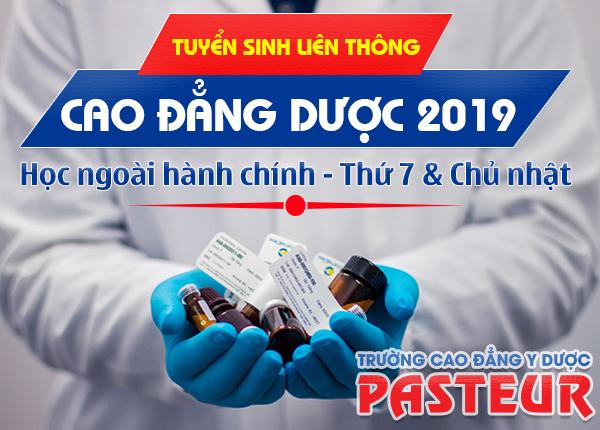 Thông tin tuyển sinh Liên thông Cao đẳng Dược TPHCM năm 2019
