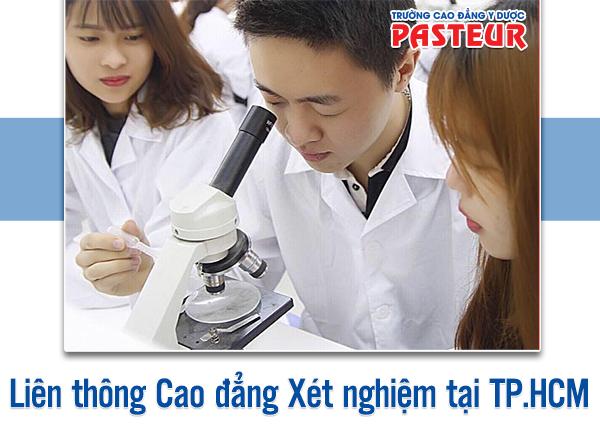 Thời gian đào tạo Liên thông Cao đẳng Xét nghiệm TPHCM trong bao lâu?