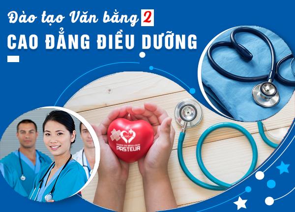 Đào tạo Văn bằng 2 Cao đẳng Điều dưỡng TP HCM năm 2020